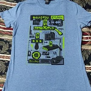 2/$16 Rick and Morty graphic tee
